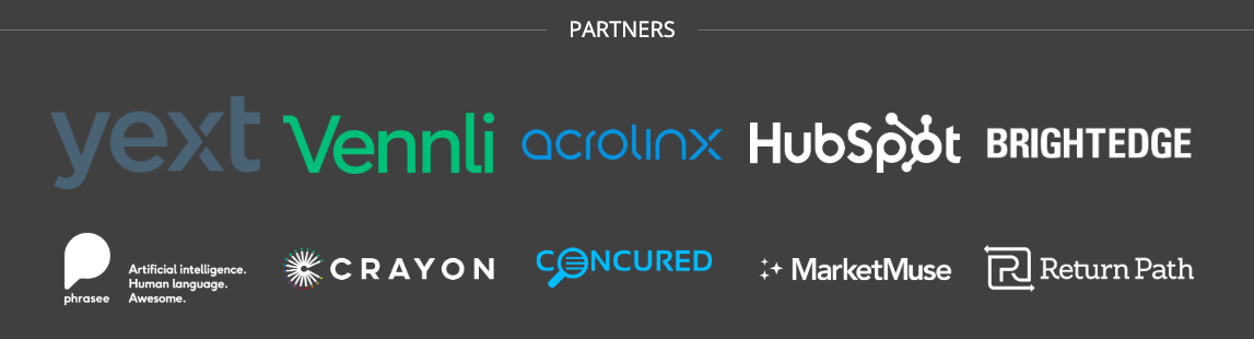 Marketing AI Institute Partners